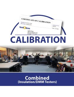 Combined (Insulation/DMM Testers) Calibration