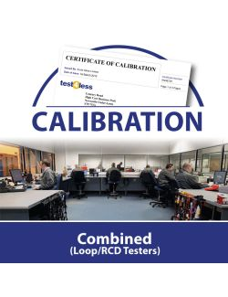 Combined (Loop/RCD Testers) Calibration