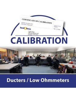 Ducters / Low Ohmmeter Calibration