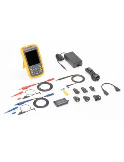 Fluke 123B UK Industrial ScopeMeter Hand Held Oscilloscope (20 MHz)