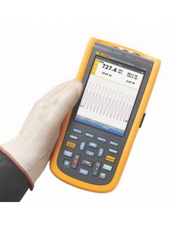 Fluke 125B UK Industrial ScopeMeter Hand Held Oscilloscope (40 MHz)