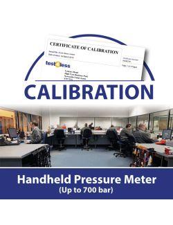 Handheld Pressure Meter Calibration (up to 700 bar)