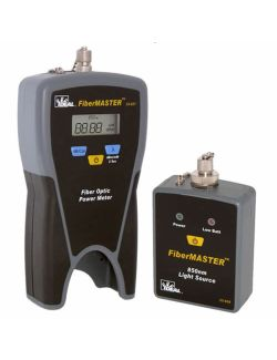 Ideal 33-928 FiberMaster Optic Power Meter with 850NM Light Source