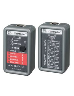 Ideal 62-200 LinkMaster Tester and Remote