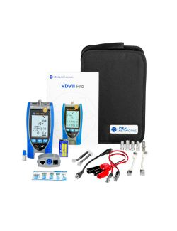 Ideal R158003 VDV II Pro Voice, Data and Video Cable Verifier