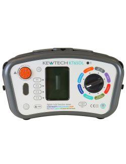 Kewtech KT65DL Digital 8-in-1 18th Edition Multifunction Tester