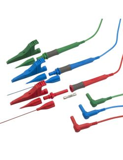 Megger 1001-975 3 Wire 10A Fused Test Lead Set