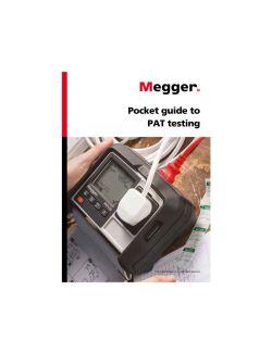 Megger Pocket Guide to PAT Testing