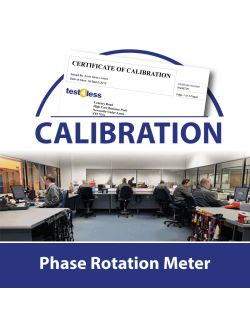 Phase Rotation Meter Calibration