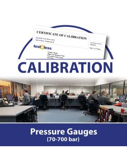 Pressure Gauge Calibration (70-700 bar)