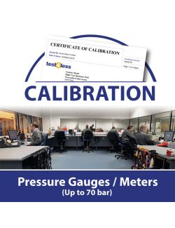 Pressure Gauge / Meter Calibration (up to 70 bar)