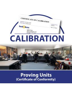 Proving Unit Calibration (Certificate of Conformity)