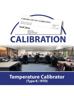 Temperature Calibrator Type K / RTD Calibration