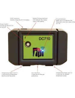 TPI DC710C1 Flue Gas Analyser Kit